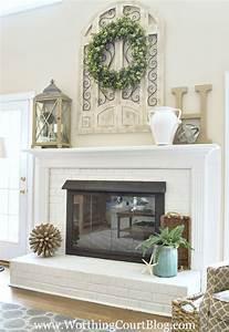 fireplace fireplace mantel decor for inspiring living With fireplace mantel decor ideas home