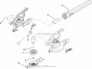 Toro 51574  Rake And Vac Blower  Vacuum  2010  Sn 310000001