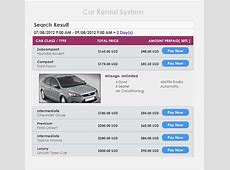 Car Rental System by bestsoftinc CodeCanyon