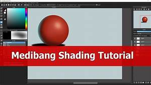 Medibang Paint Pro Tutorial   Shading For Beginners