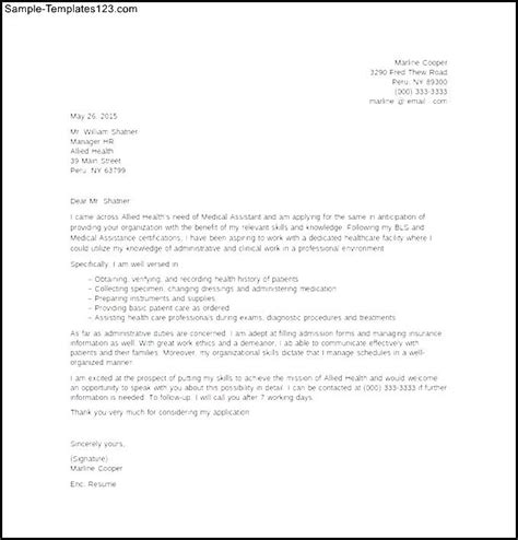 sle assistant entry level cover letter template
