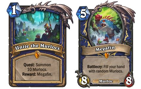Shaman Murloc Deck No Quest by Blizzard S Reveal Paves The Way For Powerful