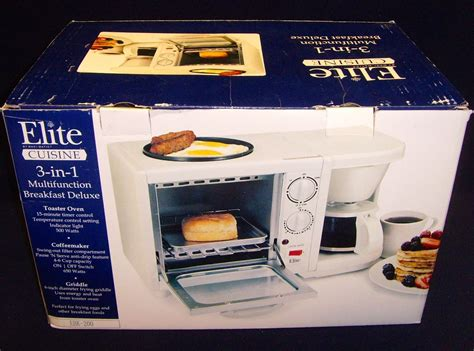 cuisine elite elite cuisine 3 in 1 multifunction breakfast deluxe