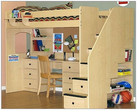 loft bed with desk and chair size loft beds with desk furniture home design and