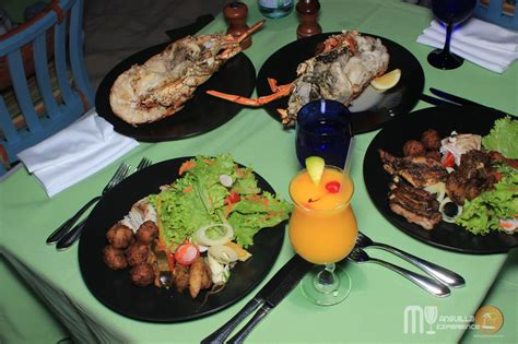 anguille cuisine bbq at blue restaurant at capjuluca my anguilla