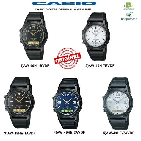 casio aw 49h aw 49he series original genuine