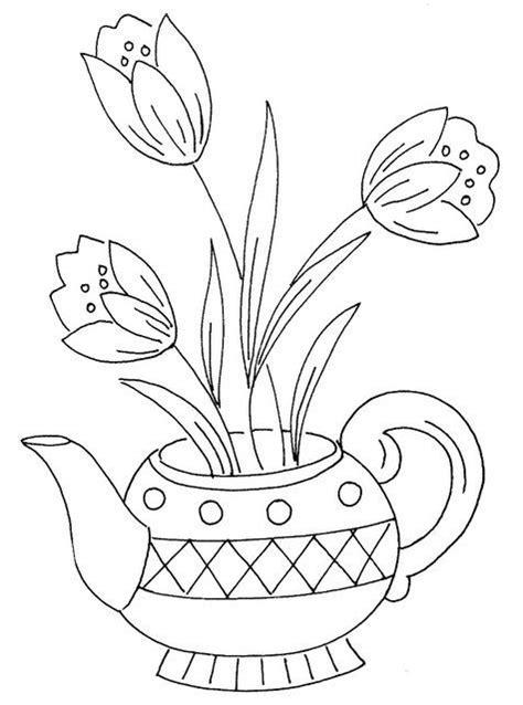 λουλούδια 43, μέσω Flickr.:   Винтаж рисунки для вышивания