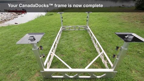 Boat R Rollers Canada by Floating Dock System Canada Docks Do It Yourself Dock Kit