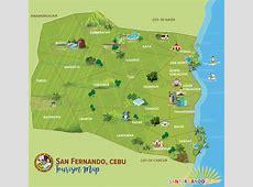 Municipal Map San Fernando, Cebu