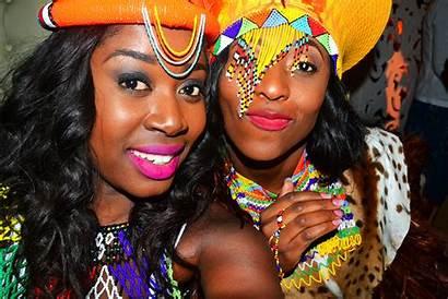 Zulu Traditional Bride African Attire South Africa