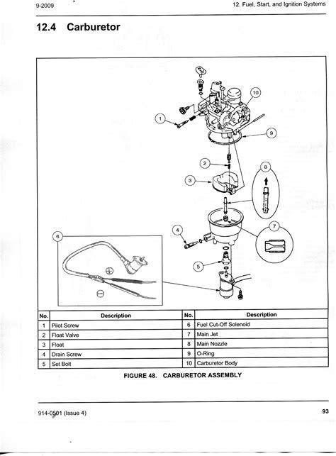 Onan Carb Diagram by I A New Onan Homesite 6500 It Starts Really
