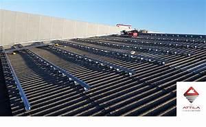 Renovation Toiture Fibro Ciment Amiante : sur toiture fibro ciment rev tements modernes du toit ~ Nature-et-papiers.com Idées de Décoration