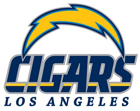 Los Angeles Cigar Chargers Shirt
