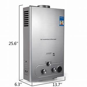 16l Natural Gas Hot Water Heater Instant Boiler On Demand