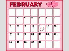 Free illustration Calendar, Pink, February, Month Free
