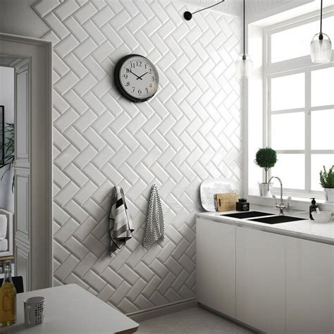 small kitchen wall tiles kitchen walls ct bisel blanco 5513