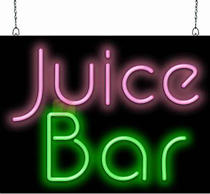 Neon Bar Juice Fg Sign
