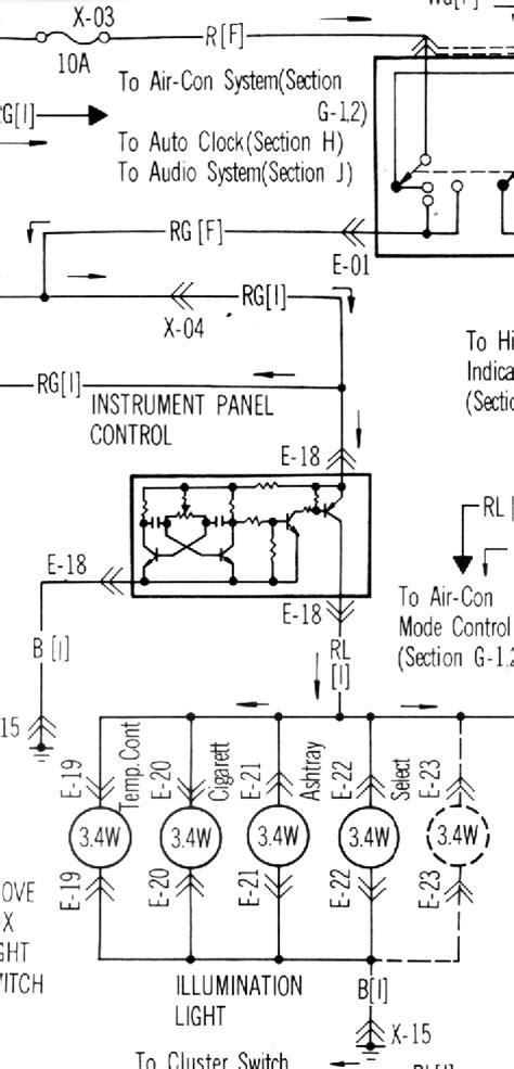 Dimmer Switch Wiring Rxclub Mazda Forum