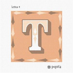 needlepoint canvas letter t large With large canvas letters