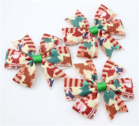 aliexpress com buy 2016 new christmas hair bows for girl