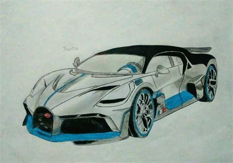 Bugatti divo sketch supercars gallery. Sketch Bugatti Divo Drawing - Supercars Gallery