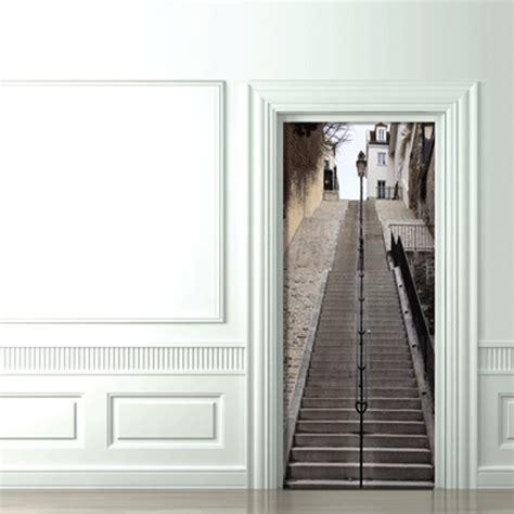 trompe l oeil doors montmartre s stairs koziel by couture d 233 co