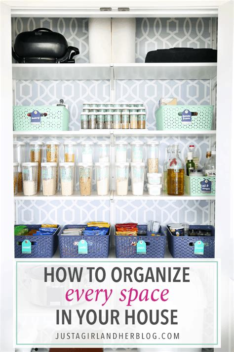Organization This House by How To Organize Every Space In Your House Abby Lawson