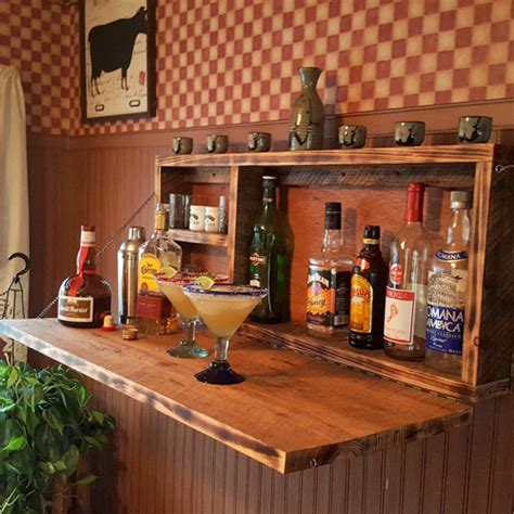 Wall Mounted Bar Cabinets For Home by Wall Mounted Home Bar Liquor Cabinet All Gifts Considered