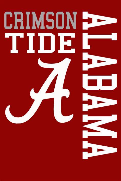 Free Crimson Tide Wallpaper Alabama Crimson Tide Wallpaper For Iphone 20 Hdwallpaper20 Com