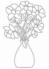 Coloring Flowers Flower Printable Pages Bouquet Sheets Vase Bestcoloringpagesforkids Tulip Lily Baskets Florals Floral Bouquets Parentune Embroidery Adult Drawing Worksheets sketch template
