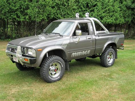 toyota pick up 1983 toyota sr 5 4x4 pickup truck quot mirage limited edition