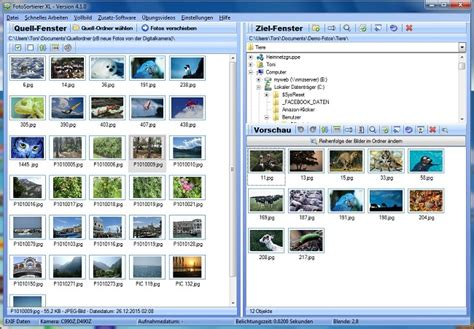 fotos sortieren und doppelte bilder finden mit dem