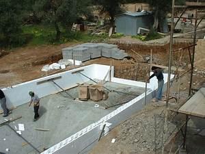 construire soi meme sa piscine les kits piscine With construction piscine hors sol en beton 5 piscine enterree hors sol hors sol bois quel type de