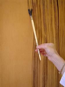faux bois ebene de macassar peintres With technique de peinture sur bois