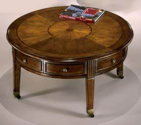 Cherry round coffee table foter for 40 inch round coffee table