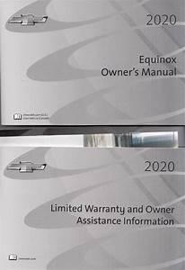 2020 Chevrolet Equinox Owner U0026 39 S Manual Original