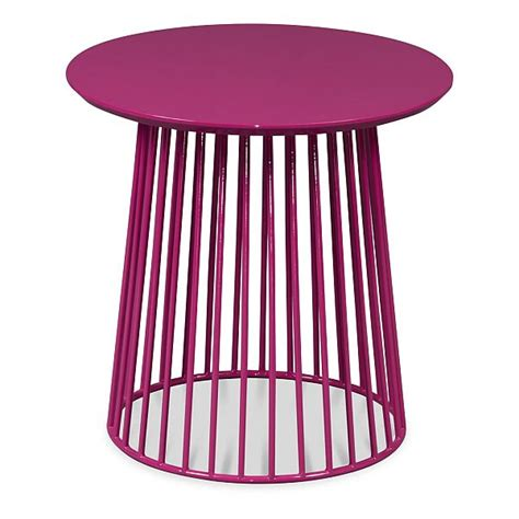 Modern Luke Blue,Yellow and Pink Coffee Table