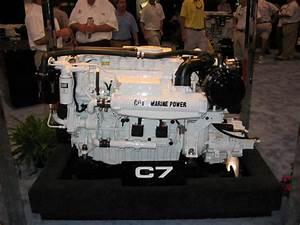 Marine Diesel Power On-display At Miami
