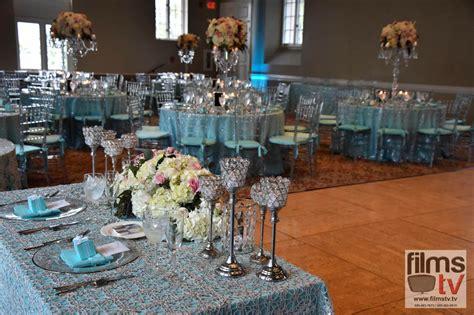 alejandrina tiffany blue  silver wedding