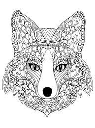 fox coloring pages  printable coloring pages  coloringonlycom