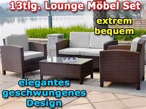 Lounge Gartenmoebel Guenstig : xinro gartenm bel loungeset lounge garten garnitur braun lounge m bel sets ~ Markanthonyermac.com Haus und Dekorationen