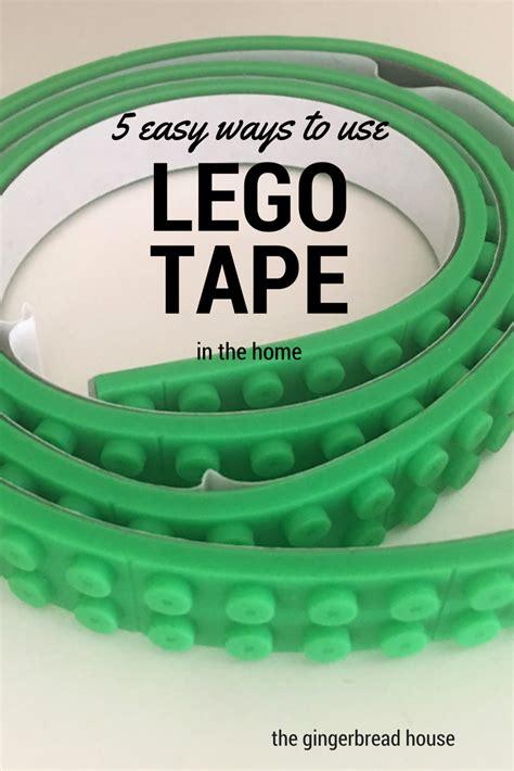 5 Ways To Use Lego Tape Thegingerbreadhousecouk