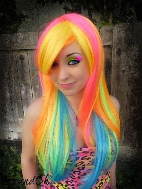 multi hair color multi colored hair don t care images and tutorials