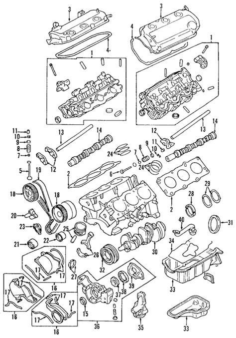partscom mitsubishi engine cylinder head valves