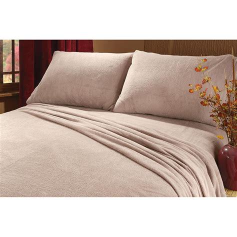 cozy plush fleece sheet set  sheets  sportsmans guide