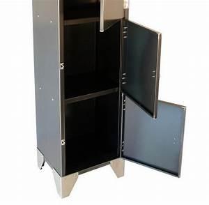 Rangement Métallique Industriel : meubles rangement metallique ~ Teatrodelosmanantiales.com Idées de Décoration