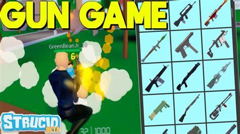 brought  gun game myselfeasy strucid youtube