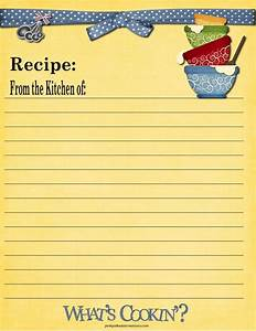 full page recipe template for word - 65 best images about recipe cards on pinterest printable