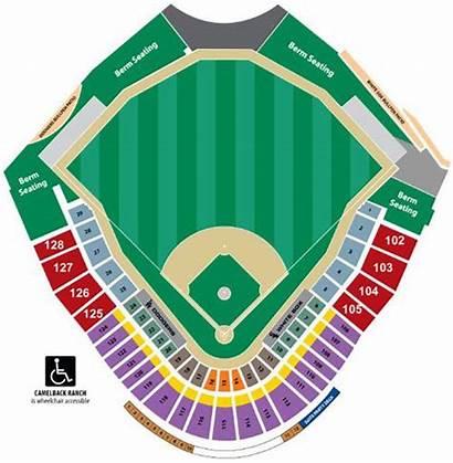 Camelback Seating Ranch Chart Glendale Stadium Training