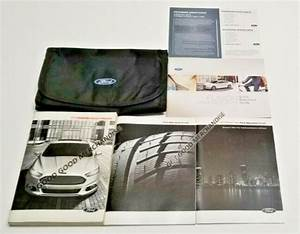 2013 Ford Fusion Owners Manual User Guide Oem S Se